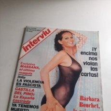 Coleccionismo de Revista Interviú: INTERVIÚ. Lote 262983500