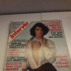 Coleccionismo de Revista Interviú: INTERVIÚ AÑO 2 NÚMERO 77. Lote 263579350