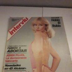 Coleccionismo de Revista Interviú: INTERVIÚ AÑO 1 NUMERO 33. Lote 263588455