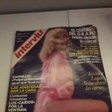 Coleccionismo de Revista Interviú: INTERVIÚ AÑO 3 NÚMERO 87. Lote 263589270