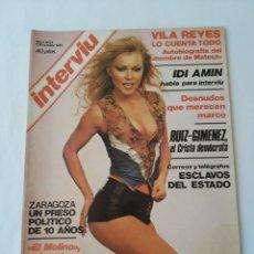 Coleccionismo de Revista Interviú: REVISTA INTERVIÚ NO.21,EL MOLINO,DESNUDOS QUE MERECEN MARCO. Lote 264313392