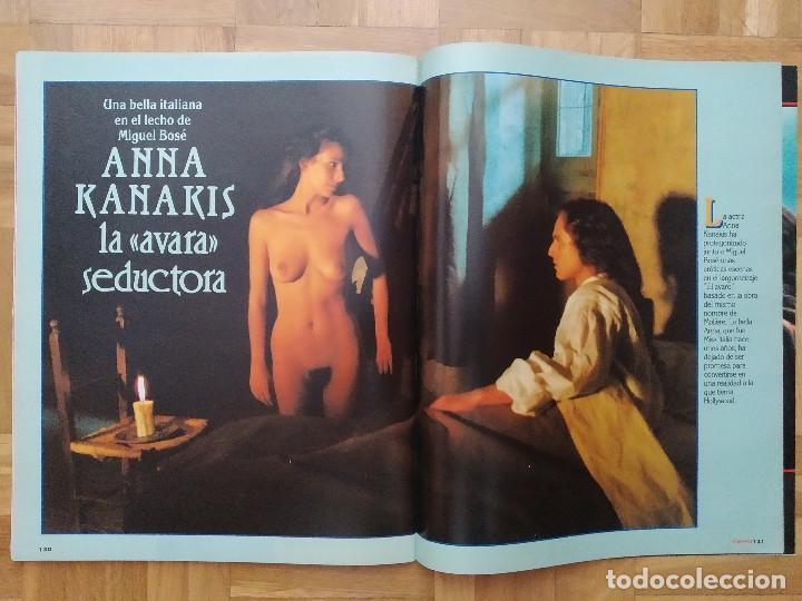 Coleccionismo de Revista Interviú: REVISTA INTERVIU 731 POSTER DE ANGELA CAVAGNA ANNA KANAKIS MIGUEL BOSE LOLITA DAVIDOVICH CHERNOBYL - Foto 4 - 264525889