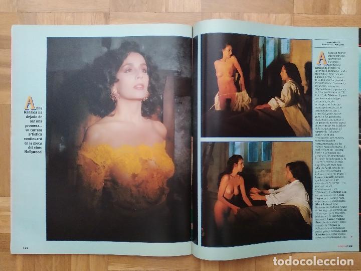 Coleccionismo de Revista Interviú: REVISTA INTERVIU 731 POSTER DE ANGELA CAVAGNA ANNA KANAKIS MIGUEL BOSE LOLITA DAVIDOVICH CHERNOBYL - Foto 5 - 264525889