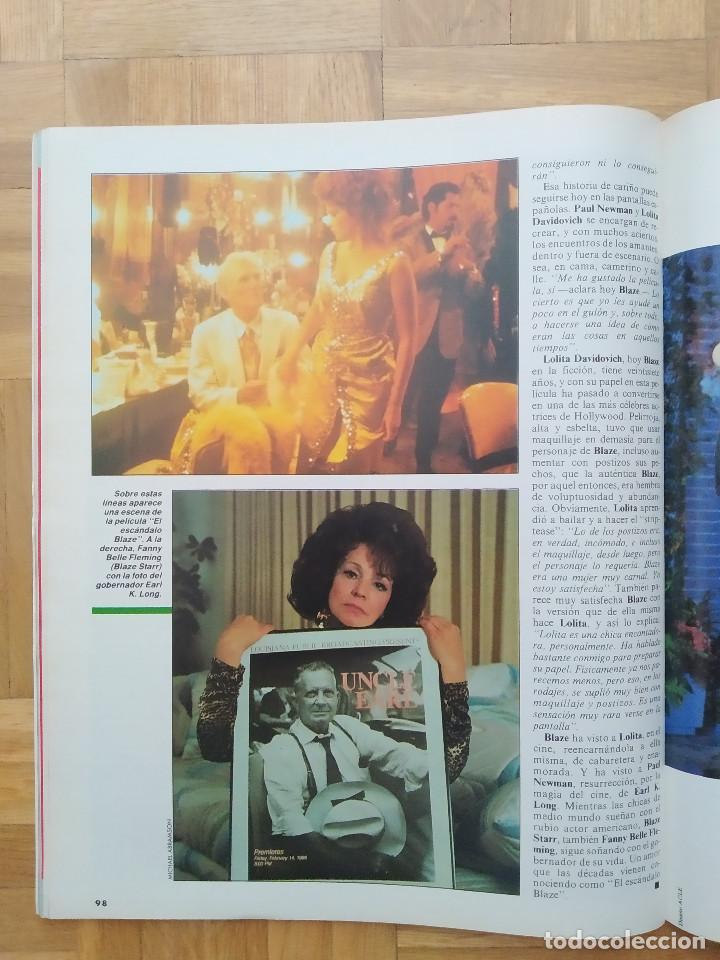 Coleccionismo de Revista Interviú: REVISTA INTERVIU 731 POSTER DE ANGELA CAVAGNA ANNA KANAKIS MIGUEL BOSE LOLITA DAVIDOVICH CHERNOBYL - Foto 14 - 264525889