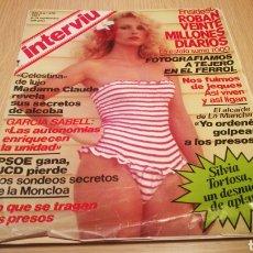 Collectionnisme de Magazine Interviú: REVISTA INTERVIÚ N ° 278 - SEPTIEMBRE 1981 - SILVIA TORTOSA. Lote 264982839