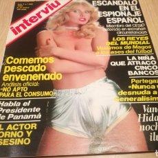 Coleccionismo de Revista Interviú: REVISTA INTERVIÚ N ° 295 - ENERO 1982 - VANESA HIDALGO - ESCÁNDALO EN EL ESPIONAJE ESPAÑOL. Lote 264983439