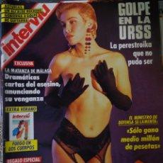 Coleccionismo de Revista Interviú: INTERVIU Nº 799, CARLA DUVAL, ISABELLE PASCO, HELL,S ANGELS , EL BERRUECO, VILLANUEVA DE OSCOS. Lote 265815434
