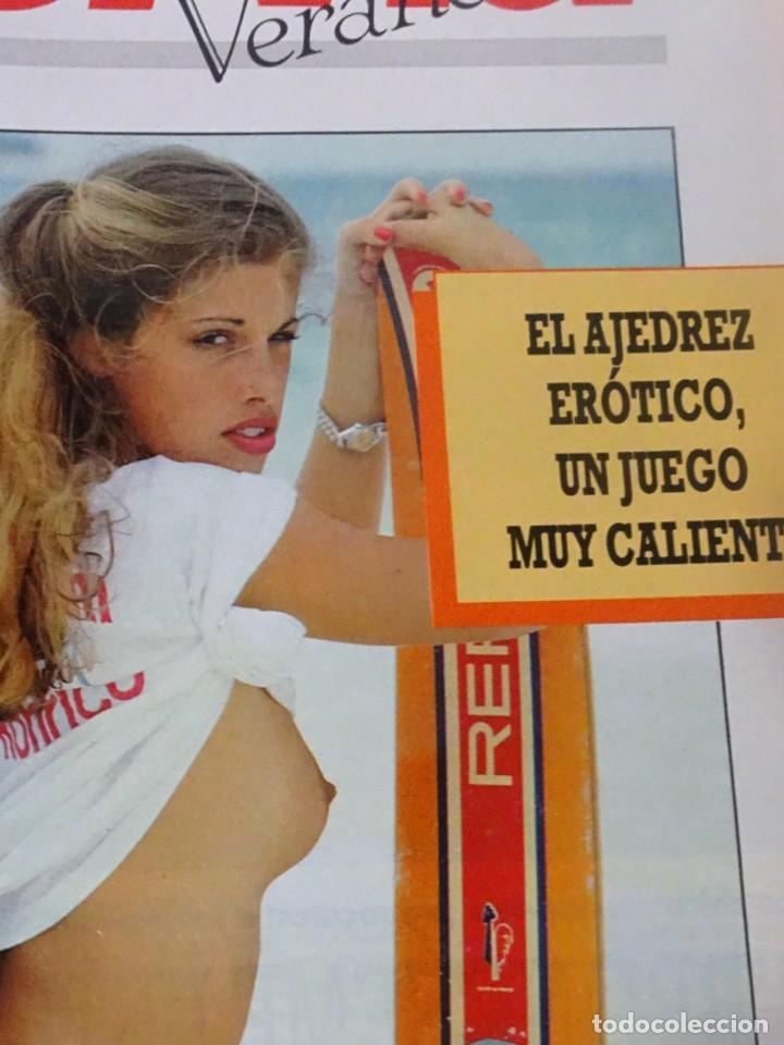 Coleccionismo de Revista Interviú: INTERVIU Nº 799, CARLA DUVAL, ISABELLE PASCO, HELL,S ANGELS , EL BERRUECO, VILLANUEVA DE OSCOS - Foto 16 - 265815434