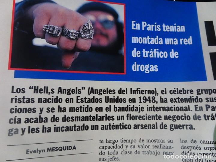 Coleccionismo de Revista Interviú: INTERVIU Nº 799, CARLA DUVAL, ISABELLE PASCO, HELL,S ANGELS , EL BERRUECO, VILLANUEVA DE OSCOS - Foto 25 - 265815434