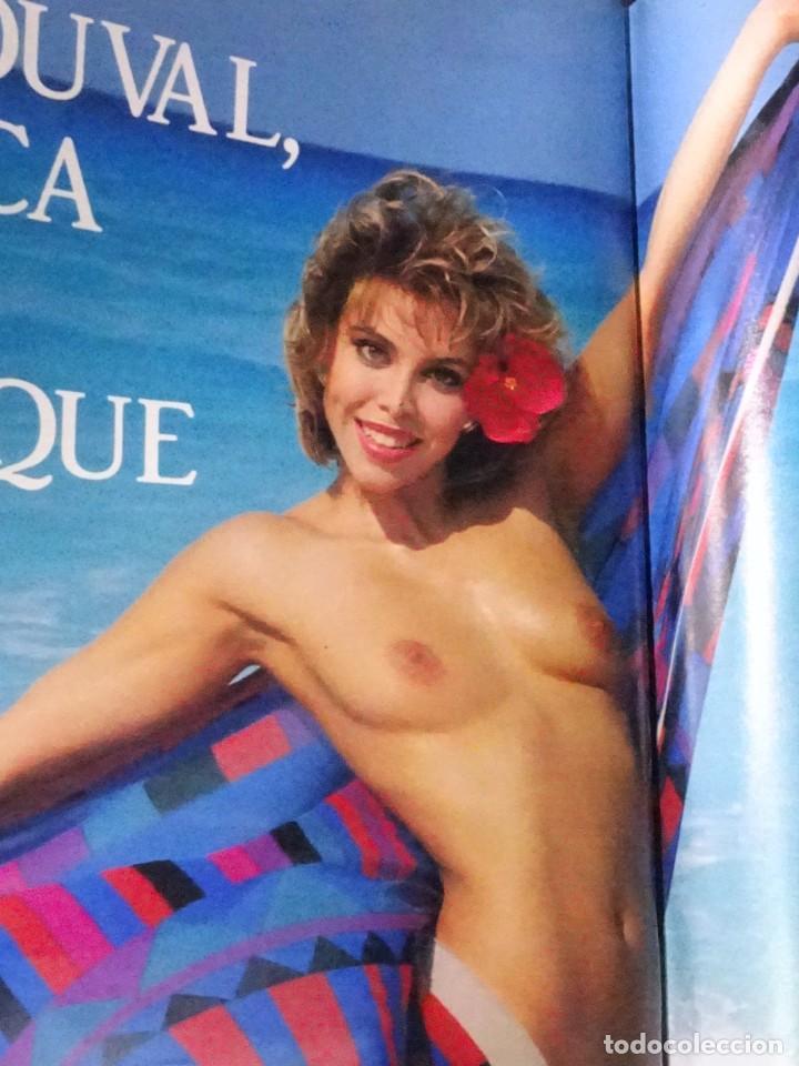 Coleccionismo de Revista Interviú: INTERVIU Nº 799, CARLA DUVAL, ISABELLE PASCO, HELL,S ANGELS , EL BERRUECO, VILLANUEVA DE OSCOS - Foto 28 - 265815434