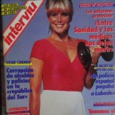 Coleccionismo de Revista Interviú: INTERVIU Nº 575, LINDA EVANS , GAL, CASO URQUIJO, NUDISMO CHICLANA, VIETNAM, VER FOTOS. Lote 265825934