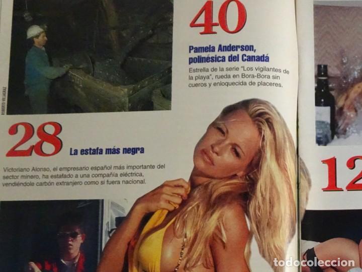 Coleccionismo de Revista Interviú: INTERVIU Nº 976,LUIS ROLDÁN ,PAMELA ANDERSON, CEMENTERIO MASCOTAS, KEANU REEVES, ARANTXA SÁNCHEZ - Foto 4 - 265955718