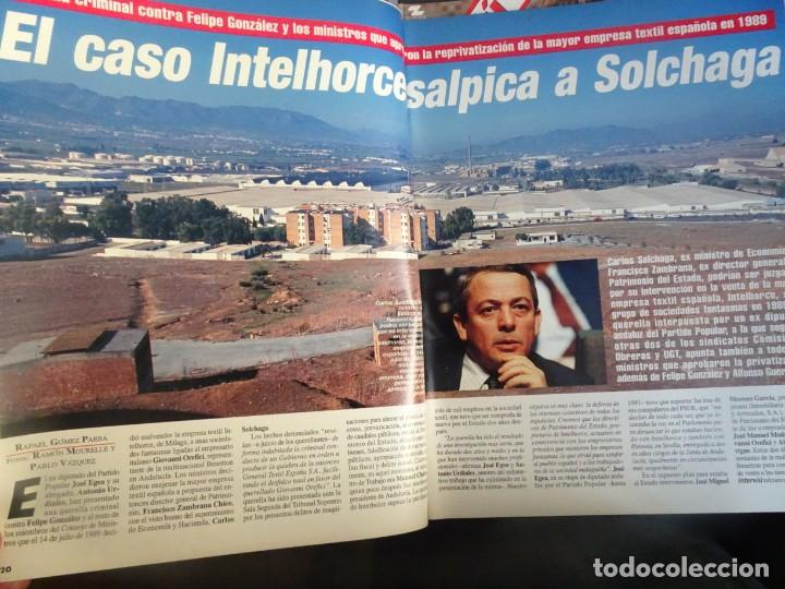 Coleccionismo de Revista Interviú: INTERVIU Nº 976,LUIS ROLDÁN ,PAMELA ANDERSON, CEMENTERIO MASCOTAS, KEANU REEVES, ARANTXA SÁNCHEZ - Foto 10 - 265955718