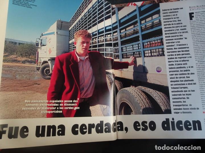 Coleccionismo de Revista Interviú: INTERVIU Nº 976,LUIS ROLDÁN ,PAMELA ANDERSON, CEMENTERIO MASCOTAS, KEANU REEVES, ARANTXA SÁNCHEZ - Foto 12 - 265955718