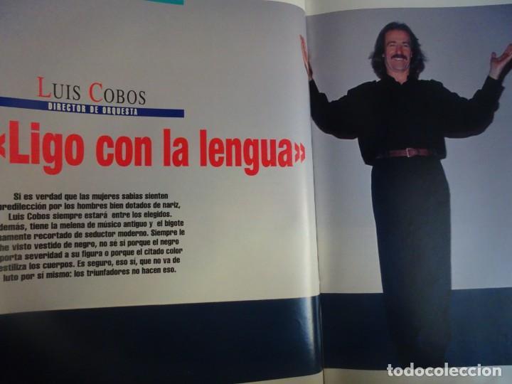 Coleccionismo de Revista Interviú: INTERVIU Nº 976,LUIS ROLDÁN ,PAMELA ANDERSON, CEMENTERIO MASCOTAS, KEANU REEVES, ARANTXA SÁNCHEZ - Foto 17 - 265955718