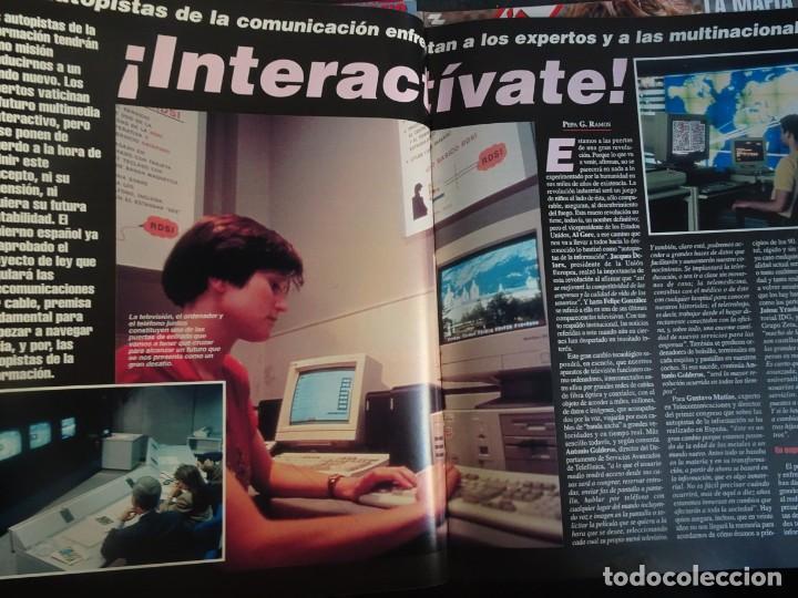 Coleccionismo de Revista Interviú: INTERVIU Nº 976,LUIS ROLDÁN ,PAMELA ANDERSON, CEMENTERIO MASCOTAS, KEANU REEVES, ARANTXA SÁNCHEZ - Foto 18 - 265955718