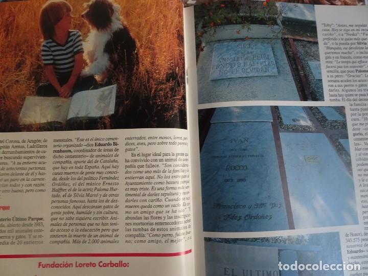 Coleccionismo de Revista Interviú: INTERVIU Nº 976,LUIS ROLDÁN ,PAMELA ANDERSON, CEMENTERIO MASCOTAS, KEANU REEVES, ARANTXA SÁNCHEZ - Foto 20 - 265955718
