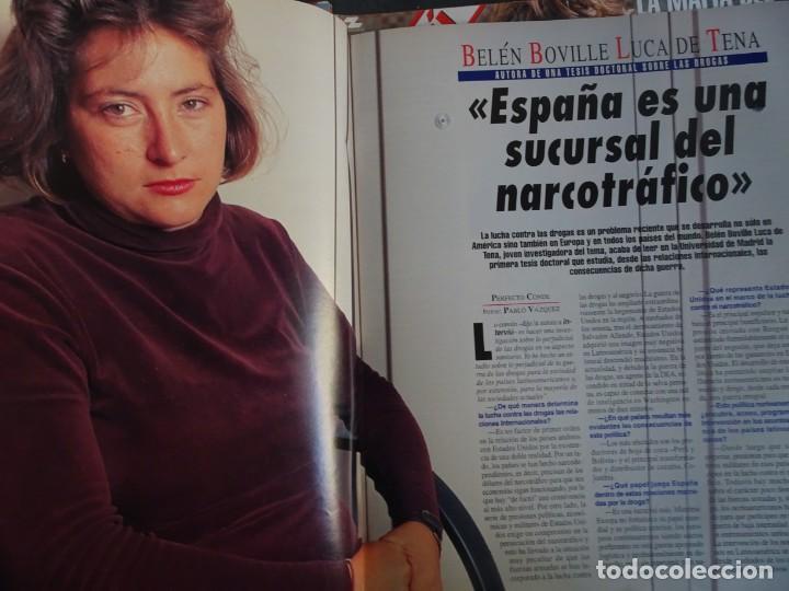Coleccionismo de Revista Interviú: INTERVIU Nº 976,LUIS ROLDÁN ,PAMELA ANDERSON, CEMENTERIO MASCOTAS, KEANU REEVES, ARANTXA SÁNCHEZ - Foto 21 - 265955718