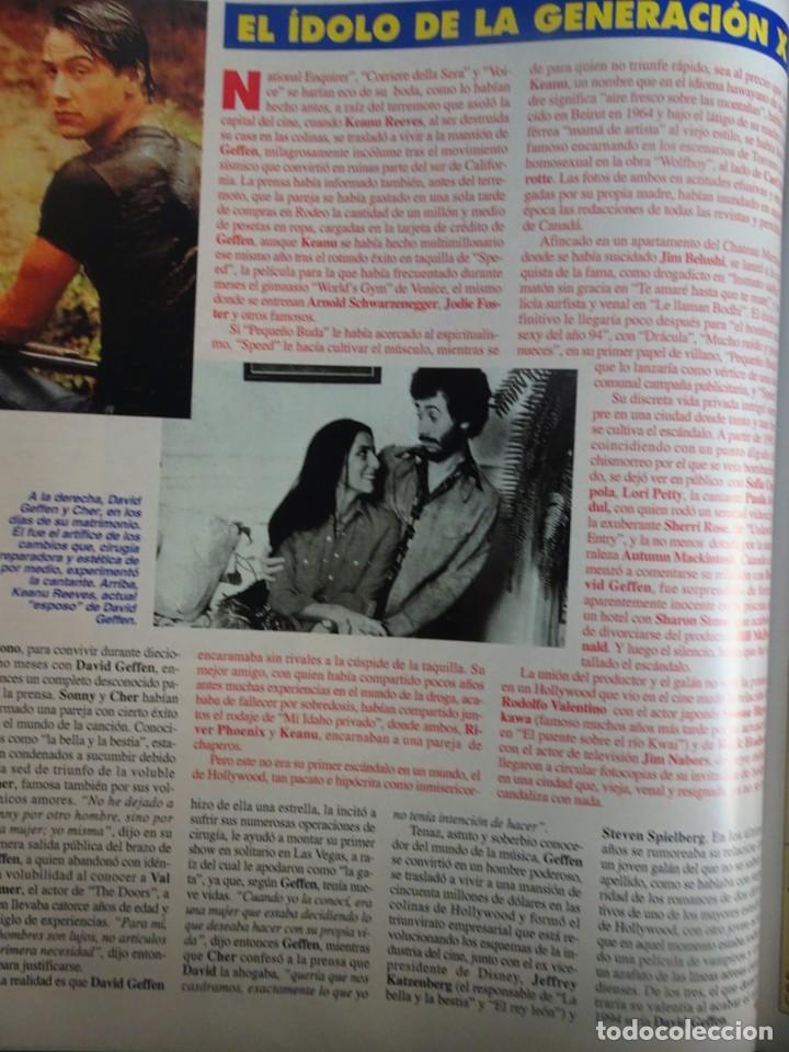 Coleccionismo de Revista Interviú: INTERVIU Nº 976,LUIS ROLDÁN ,PAMELA ANDERSON, CEMENTERIO MASCOTAS, KEANU REEVES, ARANTXA SÁNCHEZ - Foto 28 - 265955718