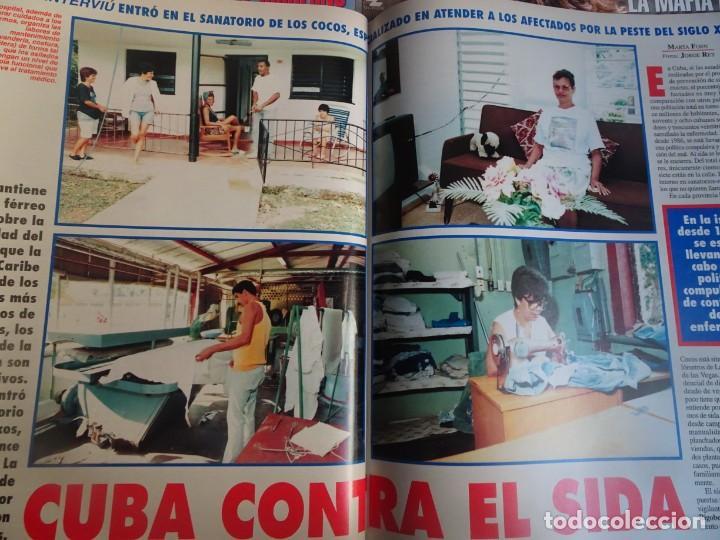 Coleccionismo de Revista Interviú: INTERVIU Nº 976,LUIS ROLDÁN ,PAMELA ANDERSON, CEMENTERIO MASCOTAS, KEANU REEVES, ARANTXA SÁNCHEZ - Foto 29 - 265955718