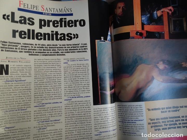 Coleccionismo de Revista Interviú: INTERVIU Nº 976,LUIS ROLDÁN ,PAMELA ANDERSON, CEMENTERIO MASCOTAS, KEANU REEVES, ARANTXA SÁNCHEZ - Foto 30 - 265955718