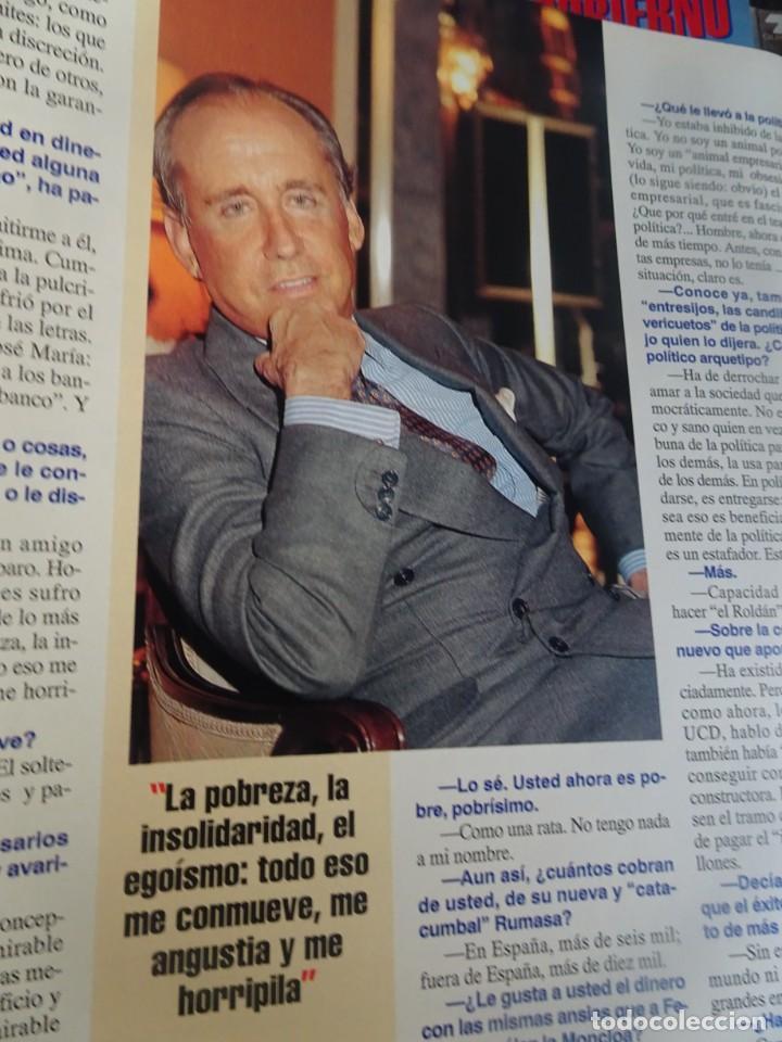 Coleccionismo de Revista Interviú: INTERVIU Nº 976,LUIS ROLDÁN ,PAMELA ANDERSON, CEMENTERIO MASCOTAS, KEANU REEVES, ARANTXA SÁNCHEZ - Foto 36 - 265955718