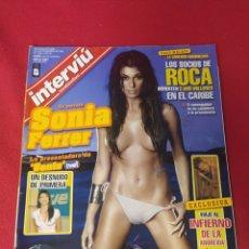 Collectionnisme de Magazine Interviú: REVISTA INTERVIÚ N.1592 AÑO 2006. Lote 265980118