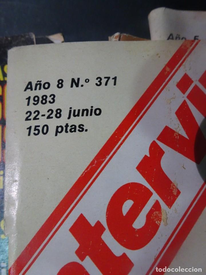 Coleccionismo de Revista Interviú: INTERVIÚ Nº371, TARRADELLAS, NASTASSIA KINSKI, HELMUT BERGER, EL ASESINO DE LA CALLE LEGALIDAD - Foto 3 - 265992243