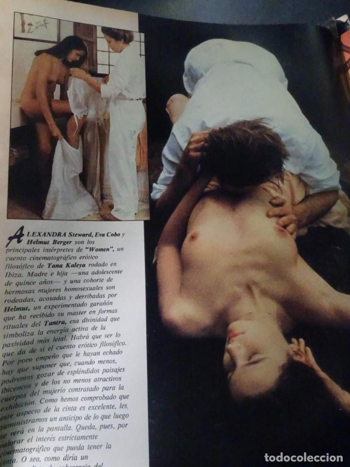 Coleccionismo de Revista Interviú: INTERVIÚ Nº371, TARRADELLAS, NASTASSIA KINSKI, HELMUT BERGER, EL ASESINO DE LA CALLE LEGALIDAD - Foto 8 - 265992243