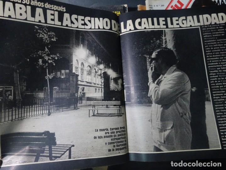 Coleccionismo de Revista Interviú: INTERVIÚ Nº371, TARRADELLAS, NASTASSIA KINSKI, HELMUT BERGER, EL ASESINO DE LA CALLE LEGALIDAD - Foto 17 - 265992243