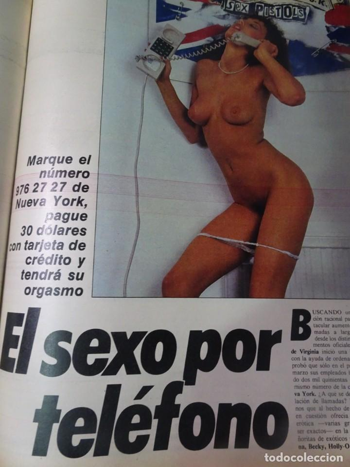 Coleccionismo de Revista Interviú: INTERVIÚ Nº371, TARRADELLAS, NASTASSIA KINSKI, HELMUT BERGER, EL ASESINO DE LA CALLE LEGALIDAD - Foto 29 - 265992243