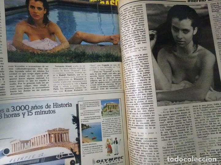 Coleccionismo de Revista Interviú: INTERVIÚ Nº371, TARRADELLAS, NASTASSIA KINSKI, HELMUT BERGER, EL ASESINO DE LA CALLE LEGALIDAD - Foto 46 - 265992243