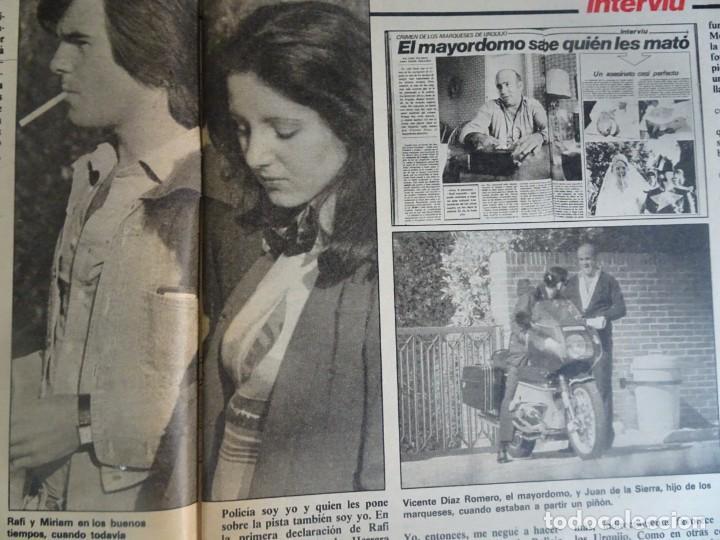 Coleccionismo de Revista Interviú: INTERVIU Nº425,JULIO IGLESIAS,CELA ,CNT - FAI, DALÍ, CASO URQUIJO,PILAR PRIMO DE RIVERA, EUROCOPA - Foto 6 - 266036413