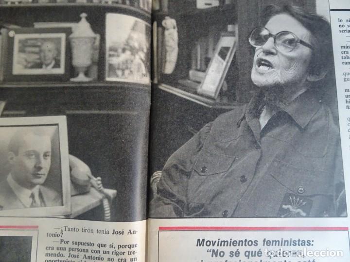 Coleccionismo de Revista Interviú: INTERVIU Nº425,JULIO IGLESIAS,CELA ,CNT - FAI, DALÍ, CASO URQUIJO,PILAR PRIMO DE RIVERA, EUROCOPA - Foto 9 - 266036413