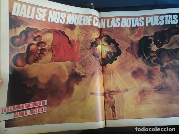 Coleccionismo de Revista Interviú: INTERVIU Nº425,JULIO IGLESIAS,CELA ,CNT - FAI, DALÍ, CASO URQUIJO,PILAR PRIMO DE RIVERA, EUROCOPA - Foto 10 - 266036413