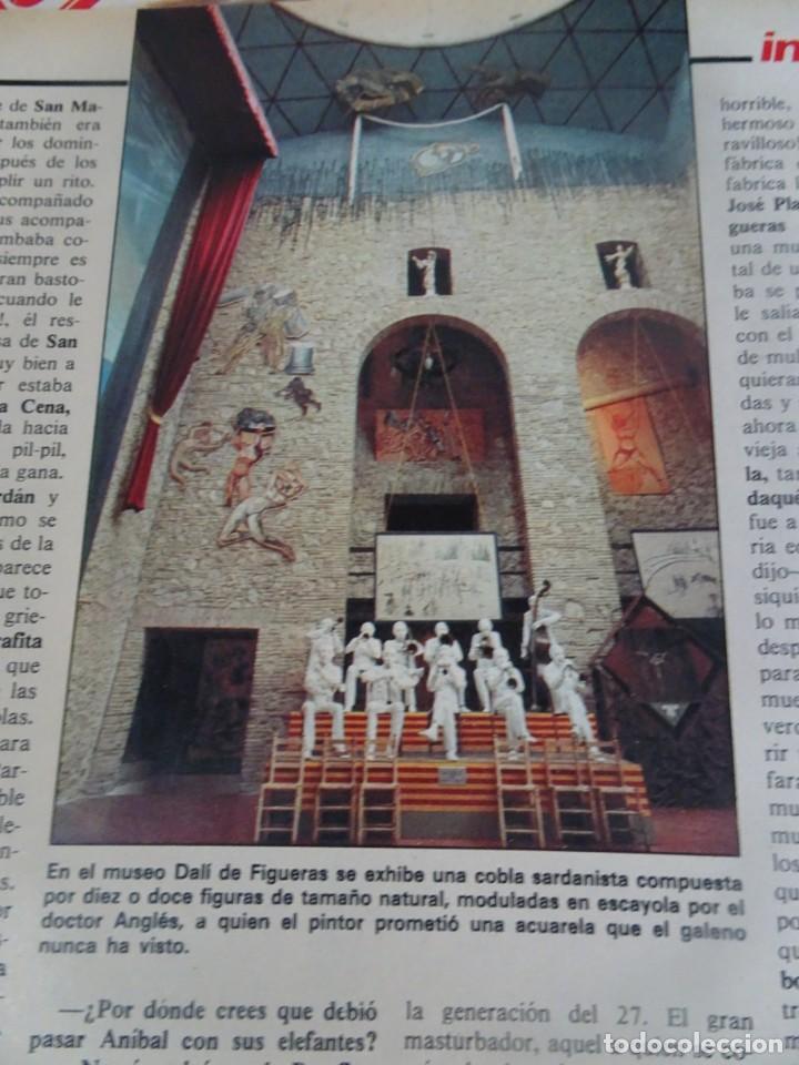 Coleccionismo de Revista Interviú: INTERVIU Nº425,JULIO IGLESIAS,CELA ,CNT - FAI, DALÍ, CASO URQUIJO,PILAR PRIMO DE RIVERA, EUROCOPA - Foto 12 - 266036413