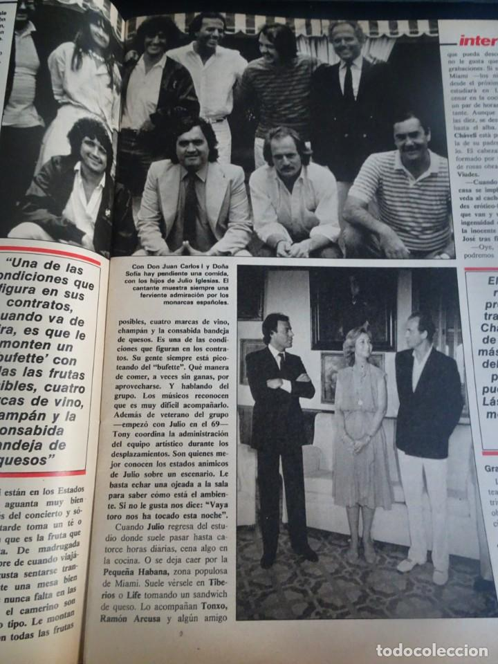 Coleccionismo de Revista Interviú: INTERVIU Nº425,JULIO IGLESIAS,CELA ,CNT - FAI, DALÍ, CASO URQUIJO,PILAR PRIMO DE RIVERA, EUROCOPA - Foto 14 - 266036413