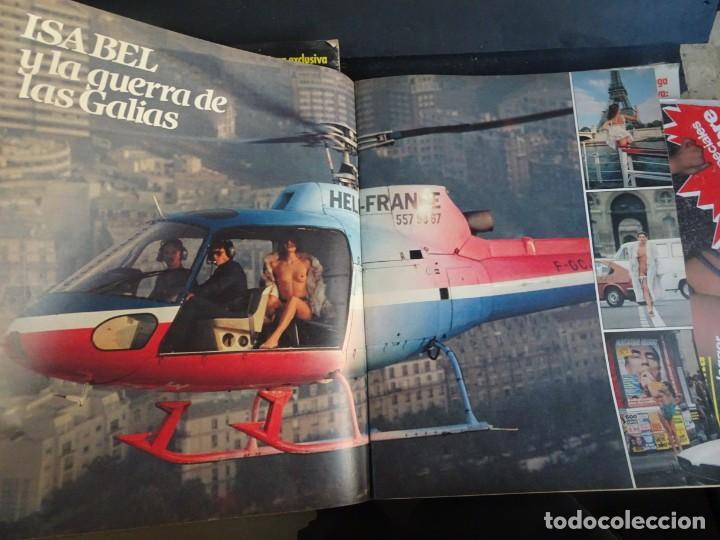 Coleccionismo de Revista Interviú: INTERVIU Nº425,JULIO IGLESIAS,CELA ,CNT - FAI, DALÍ, CASO URQUIJO,PILAR PRIMO DE RIVERA, EUROCOPA - Foto 17 - 266036413