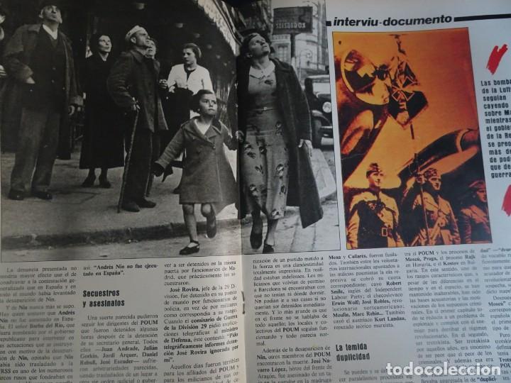 Coleccionismo de Revista Interviú: INTERVIU Nº425,JULIO IGLESIAS,CELA ,CNT - FAI, DALÍ, CASO URQUIJO,PILAR PRIMO DE RIVERA, EUROCOPA - Foto 22 - 266036413