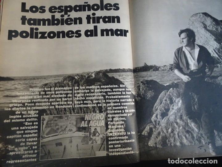 Coleccionismo de Revista Interviú: INTERVIU Nº425,JULIO IGLESIAS,CELA ,CNT - FAI, DALÍ, CASO URQUIJO,PILAR PRIMO DE RIVERA, EUROCOPA - Foto 27 - 266036413