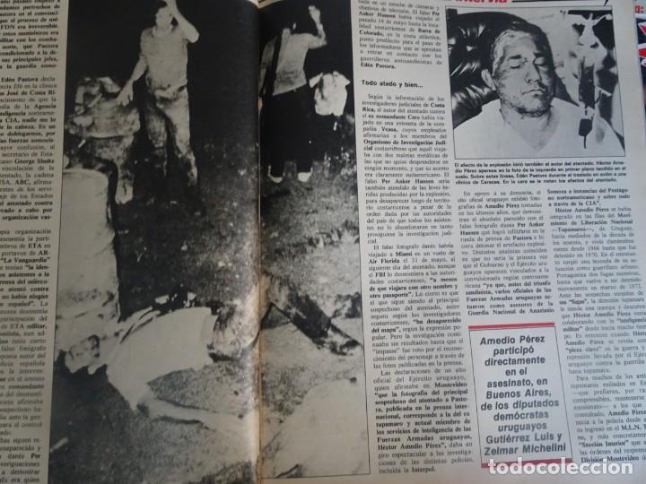 Coleccionismo de Revista Interviú: INTERVIU Nº425,JULIO IGLESIAS,CELA ,CNT - FAI, DALÍ, CASO URQUIJO,PILAR PRIMO DE RIVERA, EUROCOPA - Foto 29 - 266036413