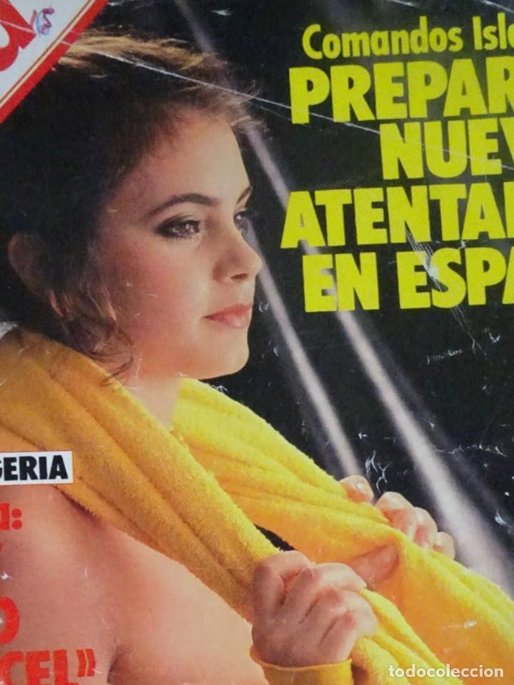 Coleccionismo de Revista Interviú: INTERVIU Nº467, SONIA MARTÍNEZ, MICK JAGGER, MENDOZA, VIETNAM, LOLITAS , CRIMEN CORTIJO ÚBEDA - Foto 2 - 266037233