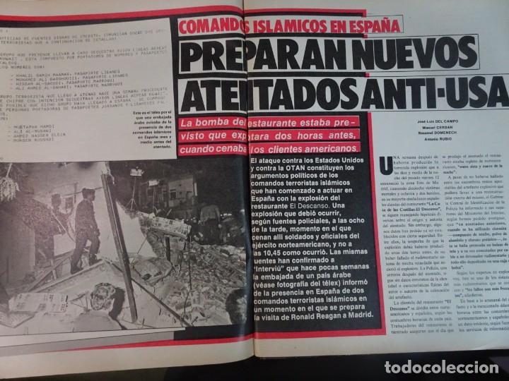 Coleccionismo de Revista Interviú: INTERVIU Nº467, SONIA MARTÍNEZ, MICK JAGGER, MENDOZA, VIETNAM, LOLITAS , CRIMEN CORTIJO ÚBEDA - Foto 5 - 266037233