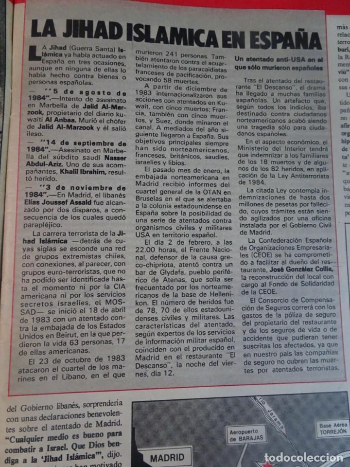 Coleccionismo de Revista Interviú: INTERVIU Nº467, SONIA MARTÍNEZ, MICK JAGGER, MENDOZA, VIETNAM, LOLITAS , CRIMEN CORTIJO ÚBEDA - Foto 6 - 266037233