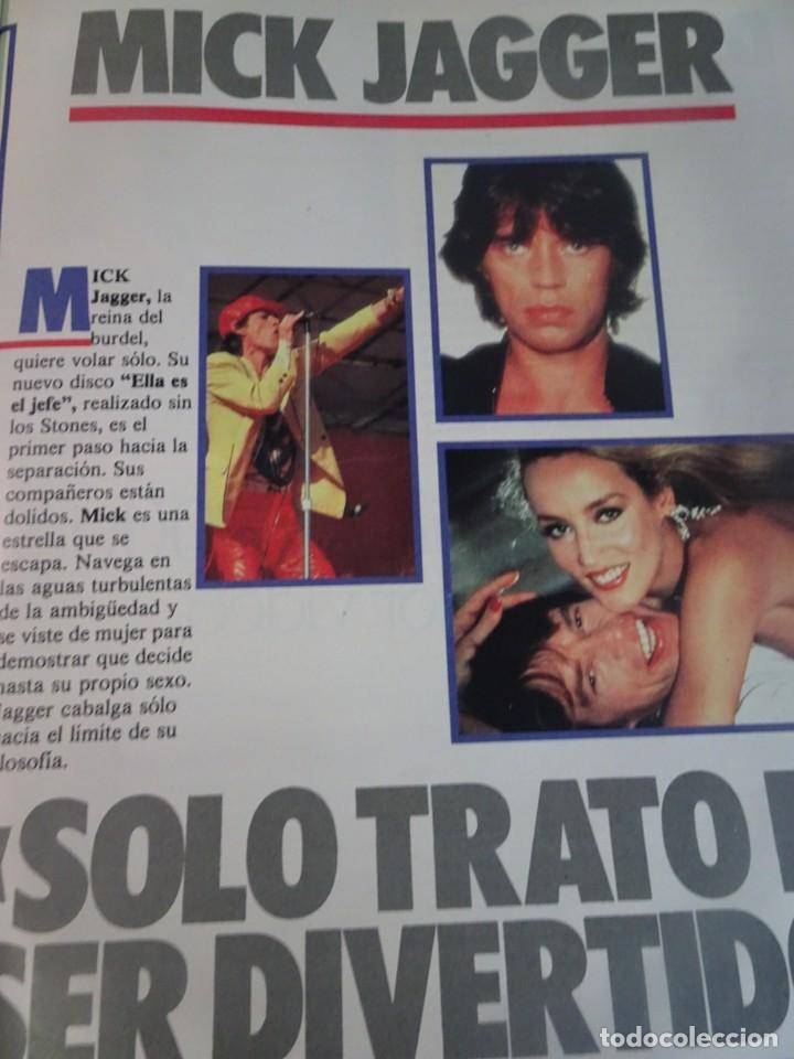 Coleccionismo de Revista Interviú: INTERVIU Nº467, SONIA MARTÍNEZ, MICK JAGGER, MENDOZA, VIETNAM, LOLITAS , CRIMEN CORTIJO ÚBEDA - Foto 15 - 266037233