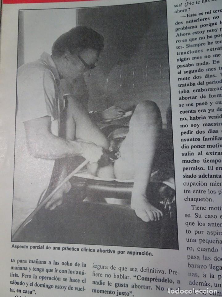 Coleccionismo de Revista Interviú: INTERVIU Nº467, SONIA MARTÍNEZ, MICK JAGGER, MENDOZA, VIETNAM, LOLITAS , CRIMEN CORTIJO ÚBEDA - Foto 41 - 266037233