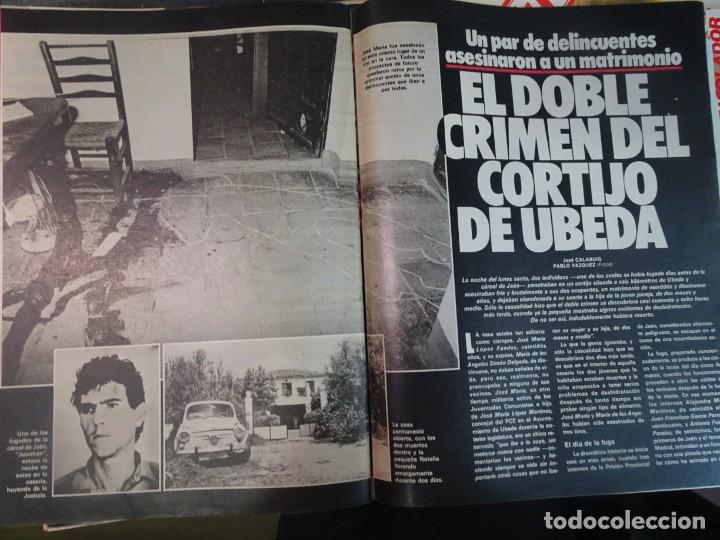 Coleccionismo de Revista Interviú: INTERVIU Nº467, SONIA MARTÍNEZ, MICK JAGGER, MENDOZA, VIETNAM, LOLITAS , CRIMEN CORTIJO ÚBEDA - Foto 43 - 266037233