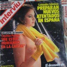 Coleccionismo de Revista Interviú: INTERVIU Nº467, SONIA MARTÍNEZ, MICK JAGGER, MENDOZA, VIETNAM, LOLITAS , CRIMEN CORTIJO ÚBEDA. Lote 266037233