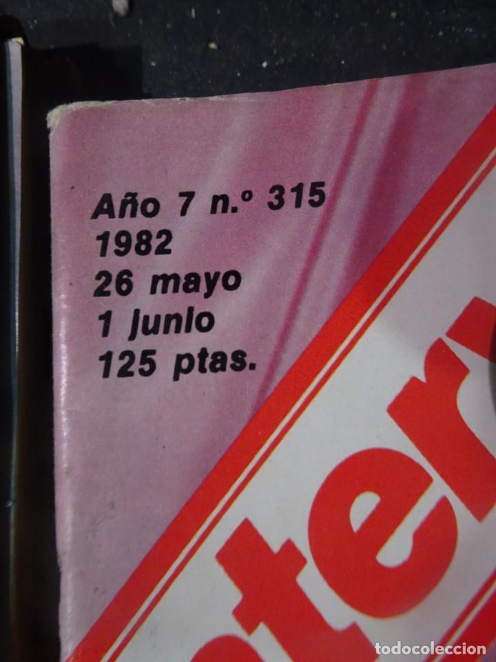 Coleccionismo de Revista Interviú: INTERVIU Nº315,PALMAR DE TROYA, MARÍA ASQUERINO,CASO VILA CARBONELL ,PANTOJA-PAQUIRRI, GEOS ALEMANES - Foto 2 - 266045573