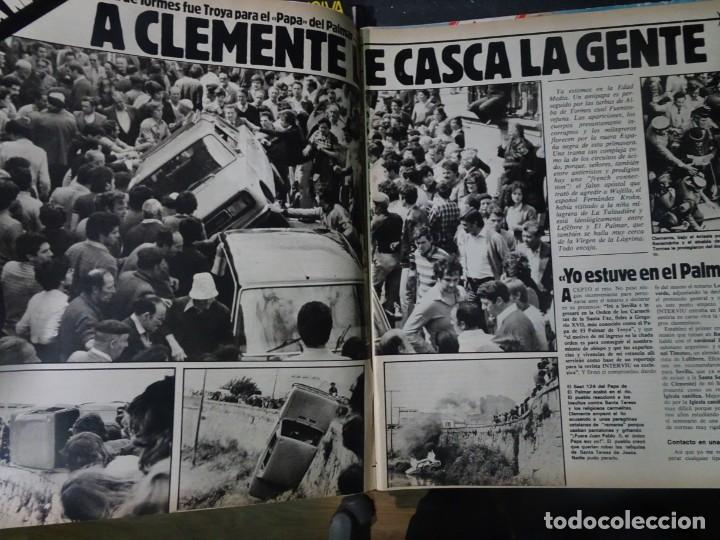 Coleccionismo de Revista Interviú: INTERVIU Nº315,PALMAR DE TROYA, MARÍA ASQUERINO,CASO VILA CARBONELL ,PANTOJA-PAQUIRRI, GEOS ALEMANES - Foto 3 - 266045573